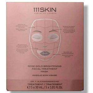 111 Skin Rose Gold Face Brightening Masks